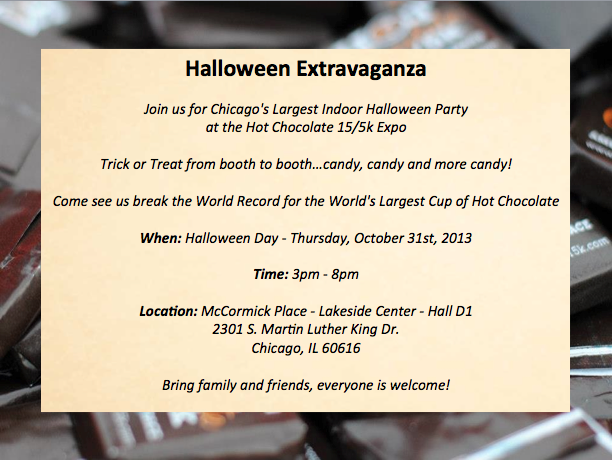 Trick-or-treat invite