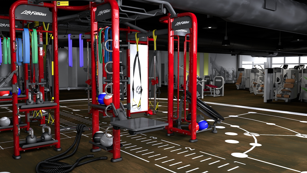 A Workout With Lifefitness Synrgy360 A Sweat Life