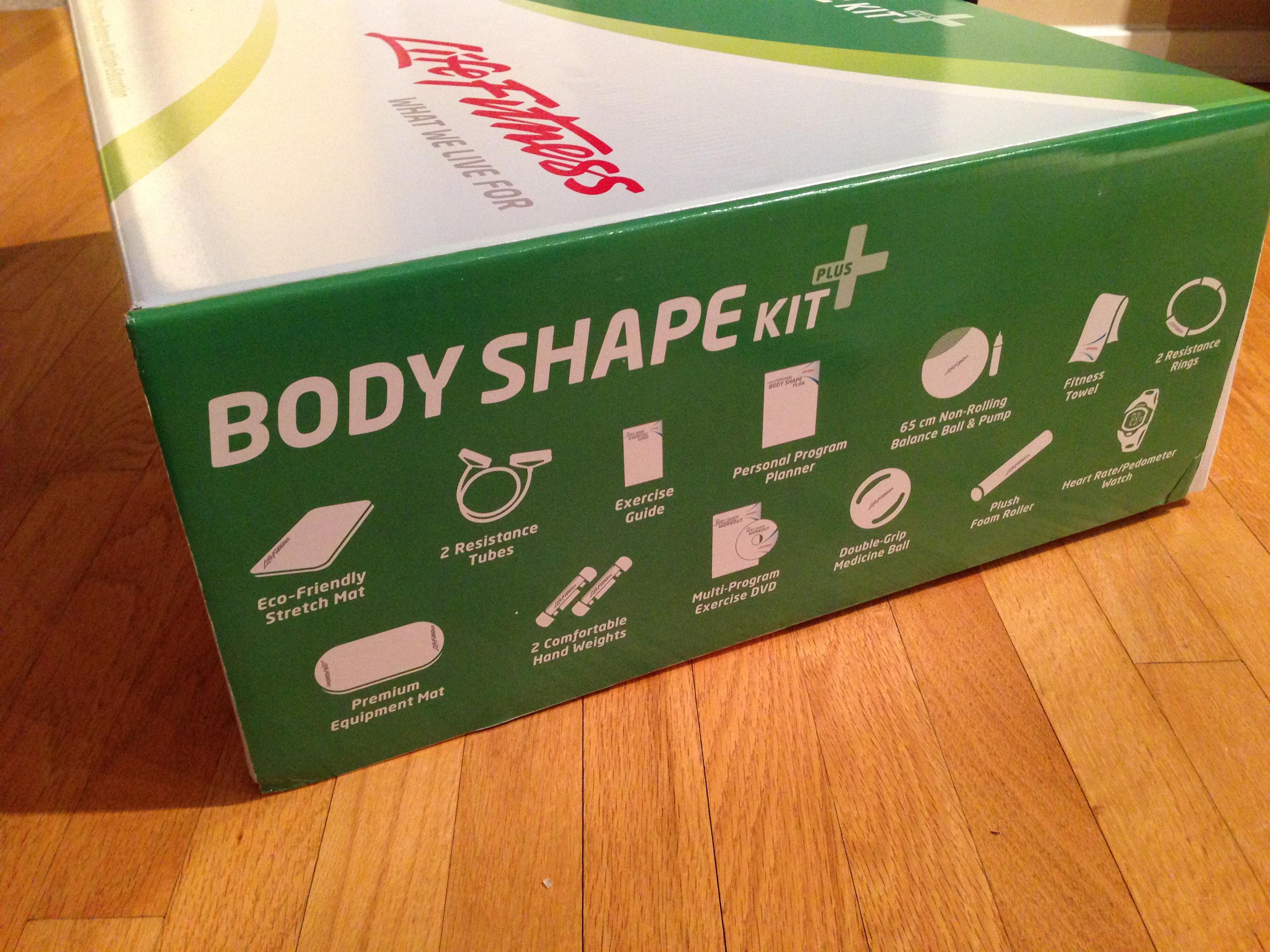 Life Fitness Body Shape Kit