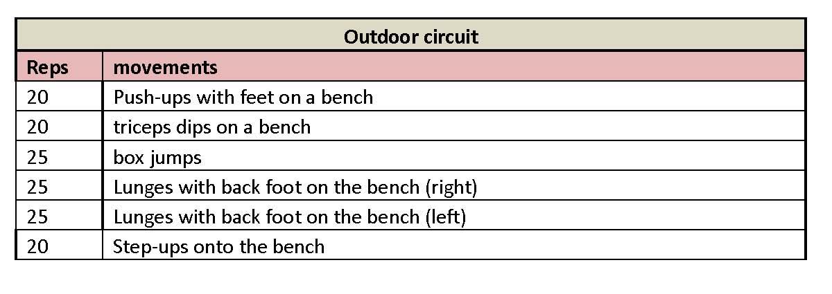 Outdoor circuit