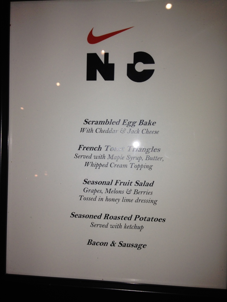 NTC brunch menu