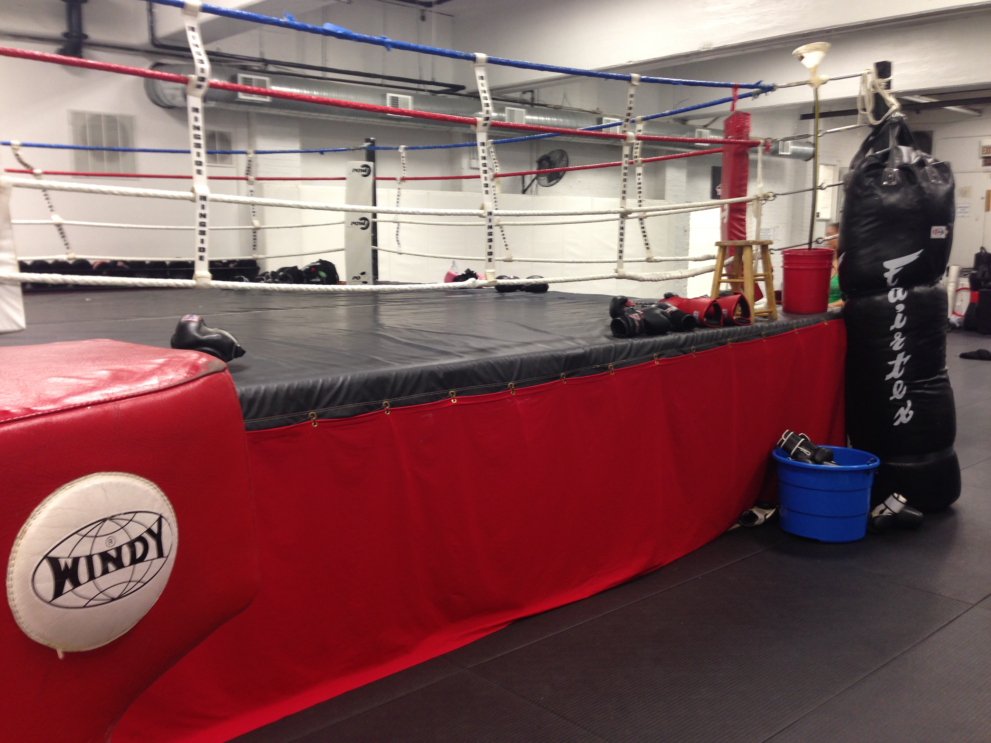 POW boxing ring