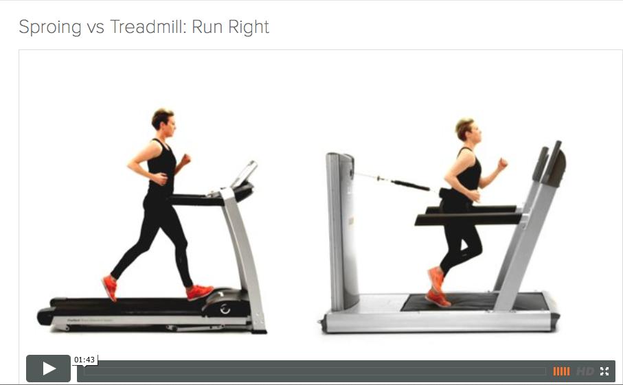 Sproing v Treadmill