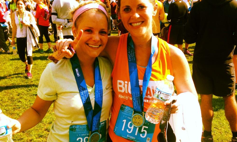 Kristen Geil running fab fit chicago